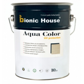 Акриловая лазурь-антисептик Aqua Color Bionic-House